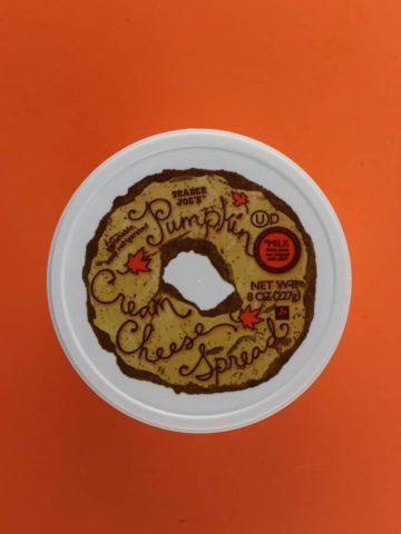 Trader Joe's Pumpkin Cream Cheese Spread
