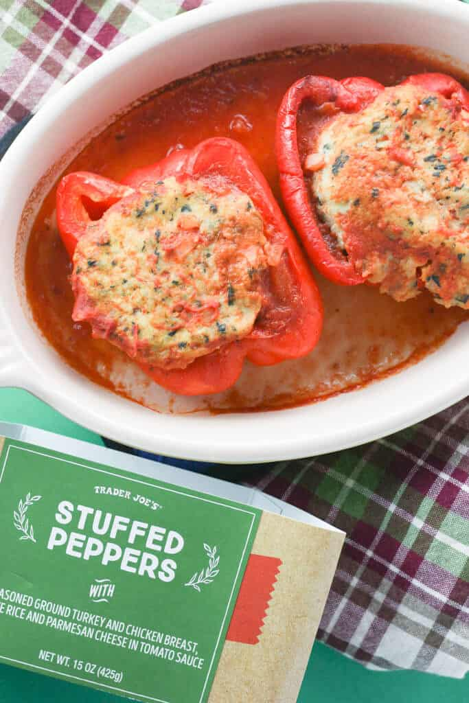 Trader Joe's Stuffed Peppers fully cooked