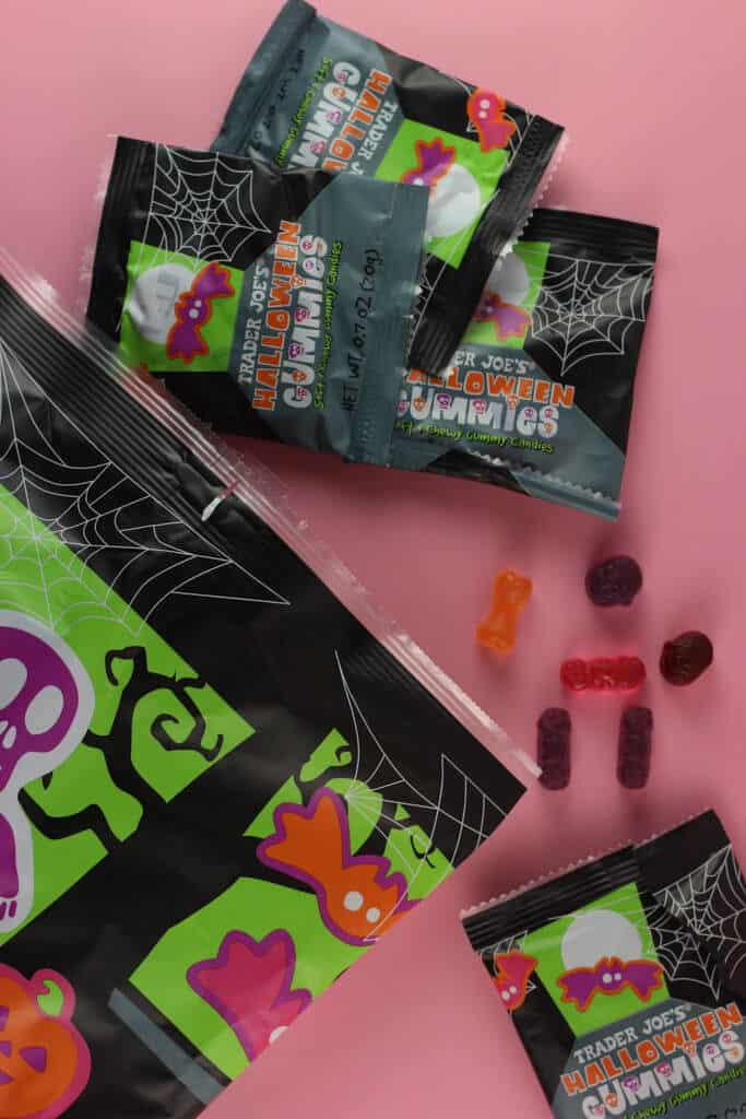 Trader Joe's Trader Joe's Halloween Gummies out of the package