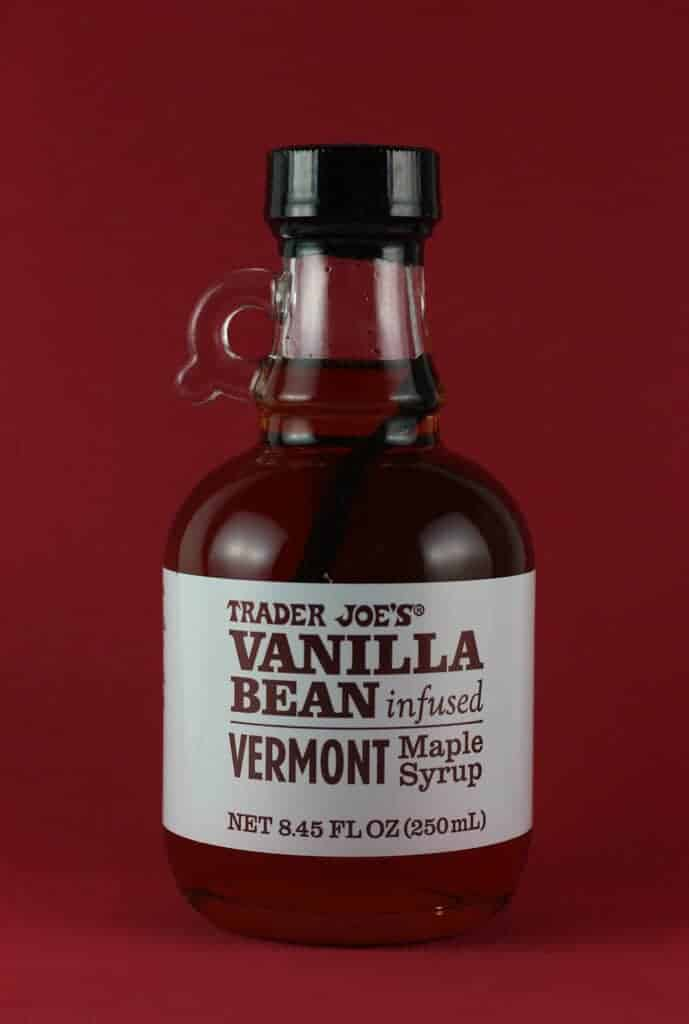 Trader Joe's Vanilla Bean Infused Vermont Maple Syrup