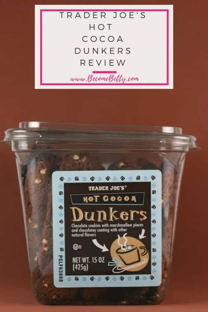 Trader Joe's hot cocoa dunkers review