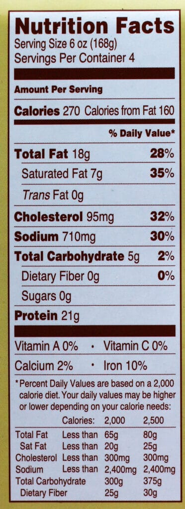 Calorie and nutritional information of Trader Joe's Braised Beef Roast with Demi Glace