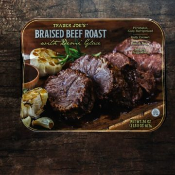 Trader Joe's Braised Beef Roast with Demi Glace