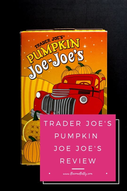 Pinterest Graphic for Trader Joe's Pumpkin Joe Joe's