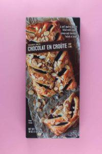 An unopened box of Trader Joe's Chocolat En Croute