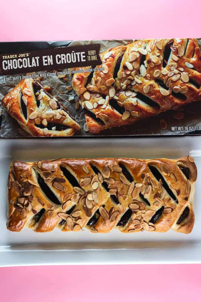 Trader Joe's Chocolat En Croute fully cooked