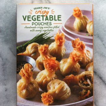 Trader Joe's Crispy Vegetable Pouches unopened package