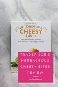 Pinterest Image for Trader Joe's Herbaceous Cheesy Bites