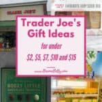 Pinterest image for Trader Joe's Gift Ideas article