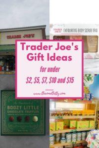 Pinterest image for Trader Joe's Gift Ideas article