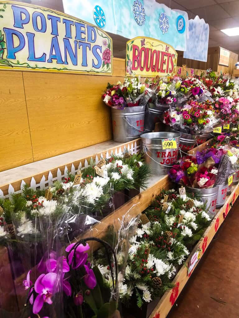 Trader Joe's Flower Aisle