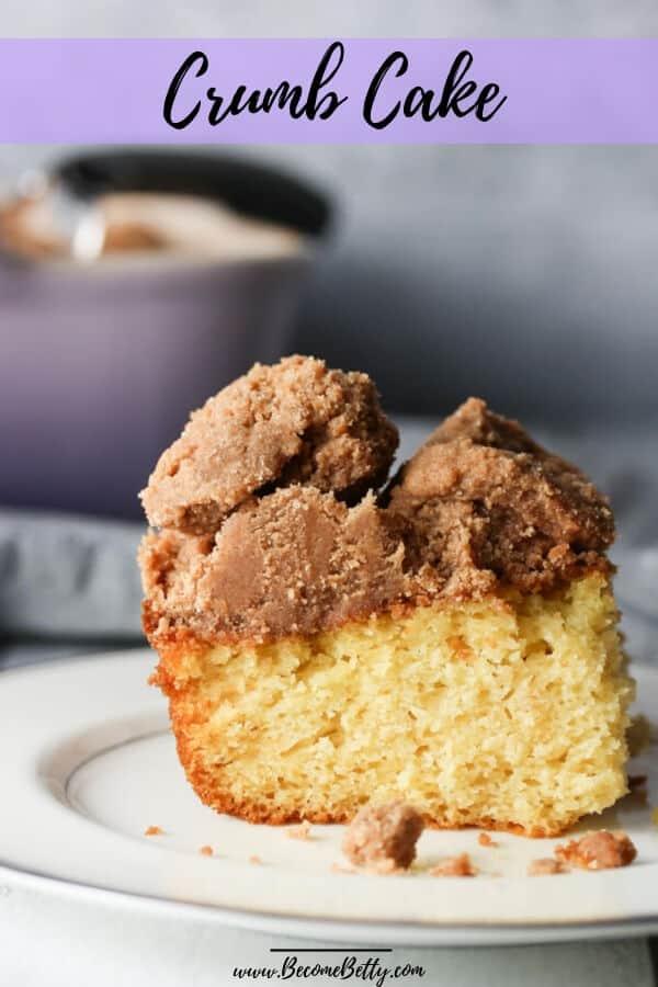 Crumb Cake Pin for Pinterest
