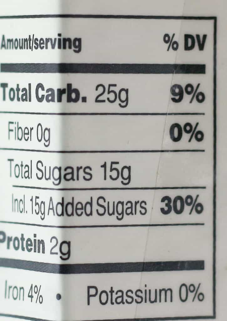 Trader Joe's Pancake Bread nutritional facts including carbs, fiber, sugar, and protein