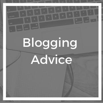 Blogging Advice Cover