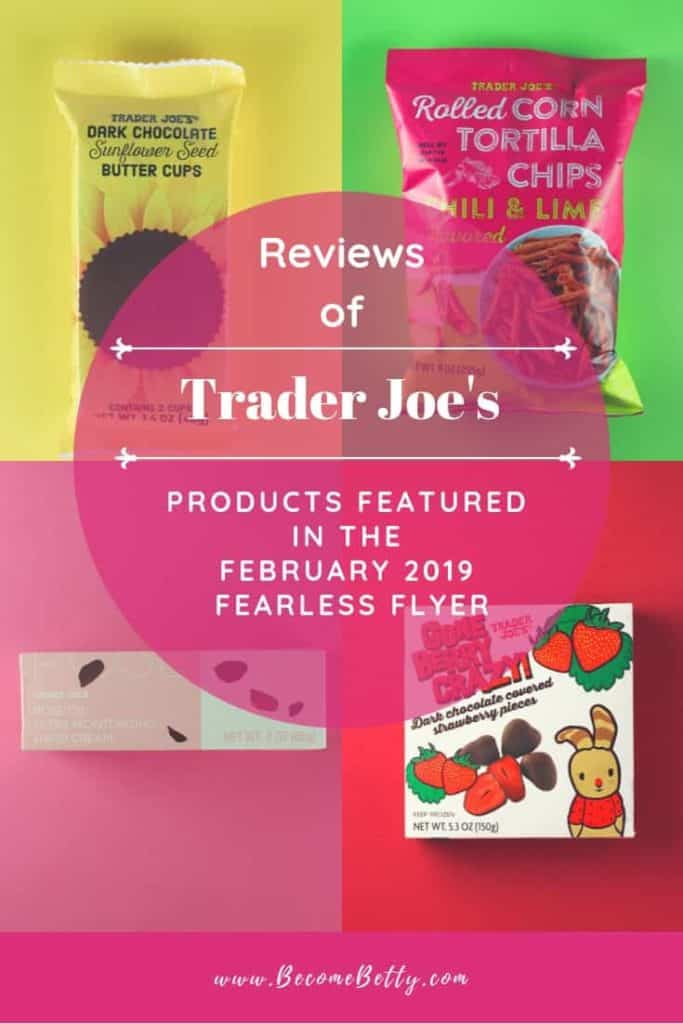 Trader Joe's February 2019 Fearless Flyer Roundup collage