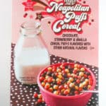 Trader Joe's Neapolitan Puffs Cereal Review Pin for Pinterest