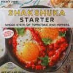 Trader Joe's Shakshuka Starter review pin for pinterest