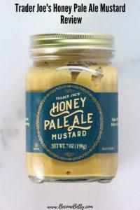 An unopened jar of Trader Joe's Honey Pale Ale Mustard