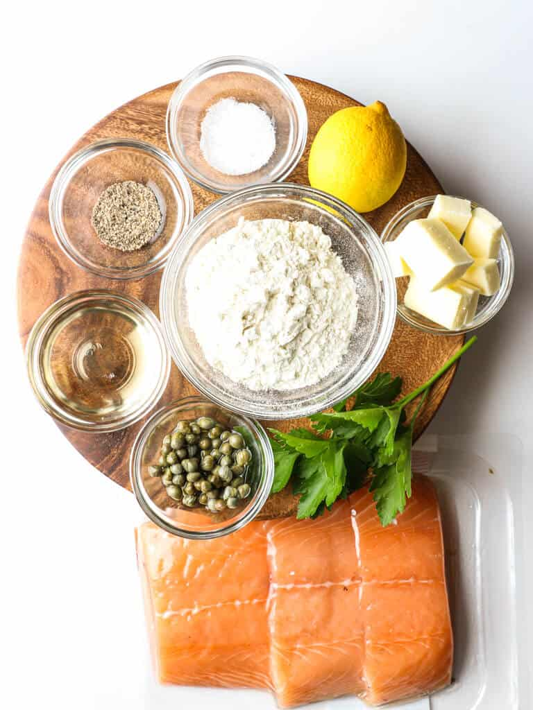 Ingredients in Salmon Meuniere