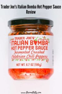 Trader Joe's Italian Bomba Hot Pepper Sauce review