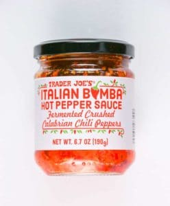Trader Joe's Italian Bomba Hot Pepper Sauce
