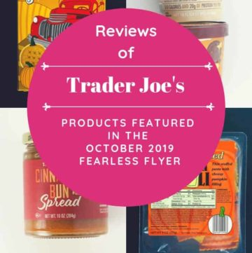 A collage of four products featured in the Fearless Flyer