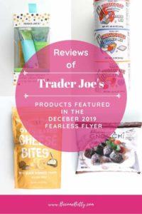 Trader Joe's December 2019 Fearless Flyer collage