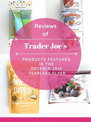 Trader Joe's December 2019 Fearless Flyer collage