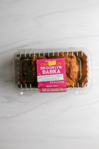 An open package of Trader Joe's Cinnamon Brooklyn Babka
