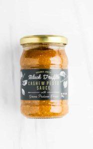 Trader Joe's Black Truffle Cashew Pesto Sauce unopened