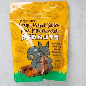 Trader Joe's Crispy Peanut Butter Filled Milk Chocolate Peanuts unopened