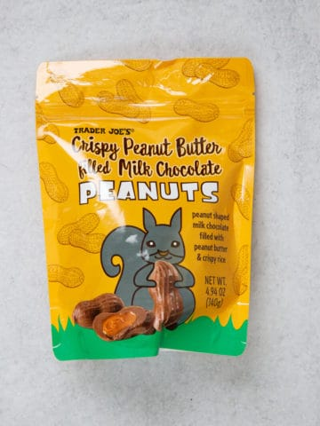 Trader Joe's Crispy Peanut Butter Filled Milk Chocolate Peanuts unopened