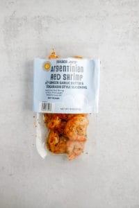Trader Joe's Argentinian Red Shrimp unopened
