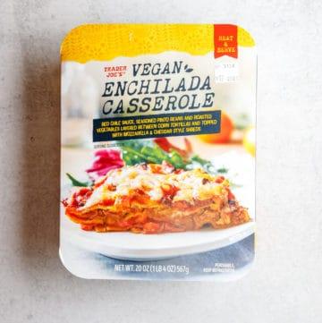 Trader Joe's Vegan Enchilada Casserole unopened