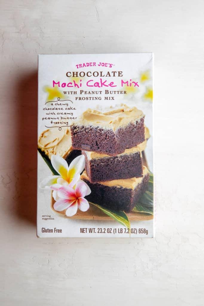 Trader Joe's Chocolate Mochi Cake unopened