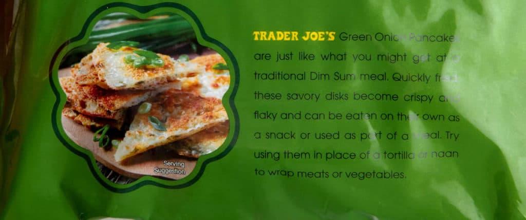 Description of Trader Joe's Taiwanese Green Onion Pancakes