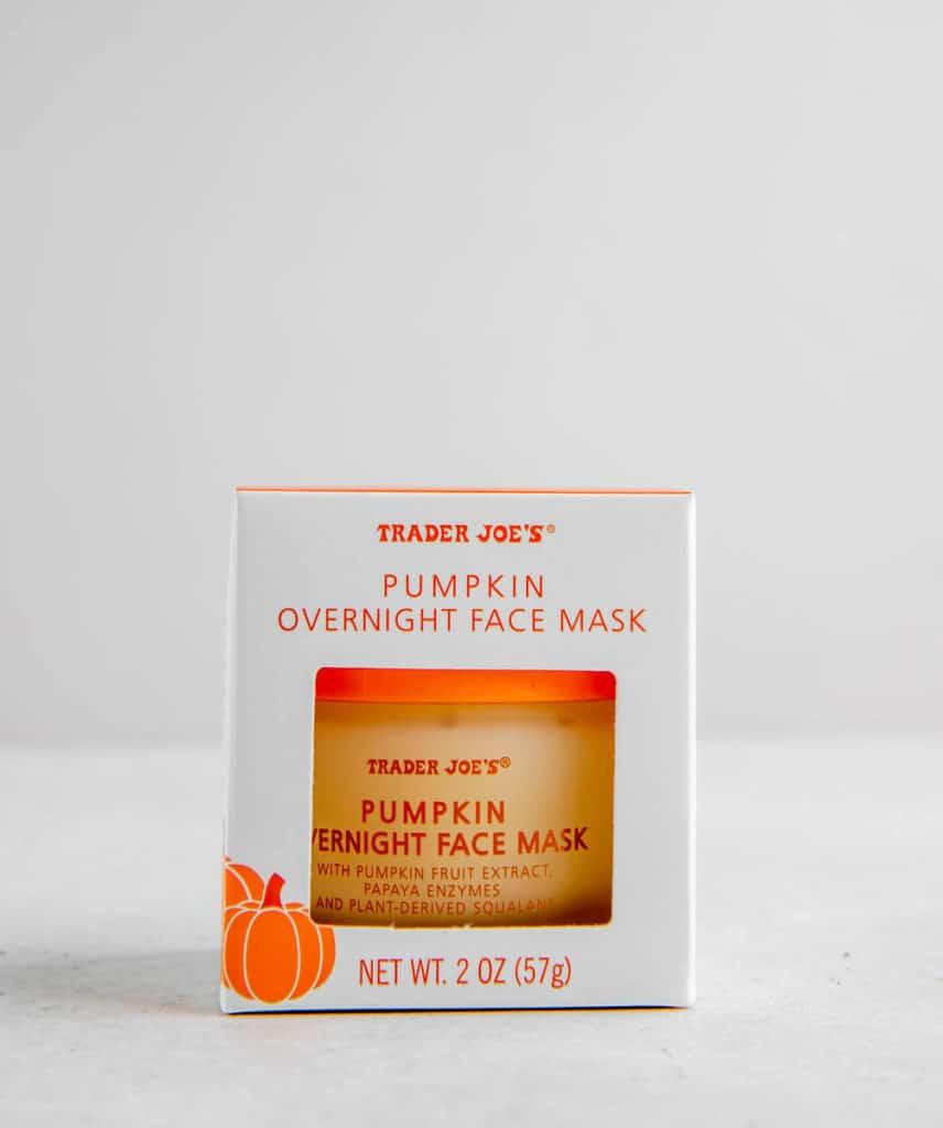 Trader Joe's Pumpkin Overnight Face Mask unopened